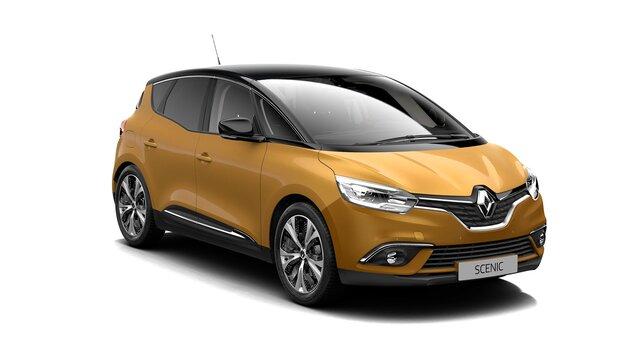 Renault scenic z przodu