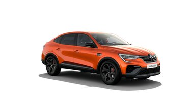 Renault Arkana z przodu