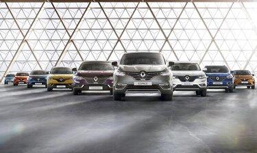 Oferta samochodów osobowych Renault