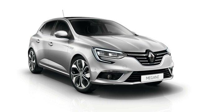 Renault Megane z przodu