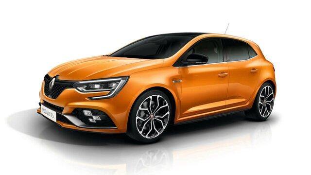 Renault Megane R.S.  z przodu
