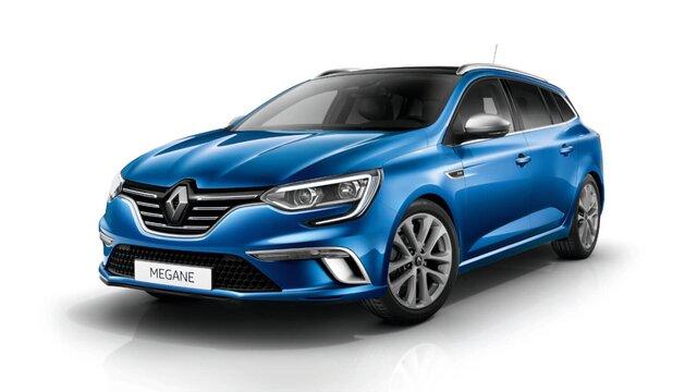 Renault Megane Grandtour z przodu