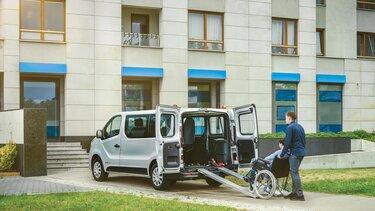 samochód do przewozu osób niepełnosprawnych