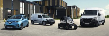 Gama samochodów elektrycznych Renault