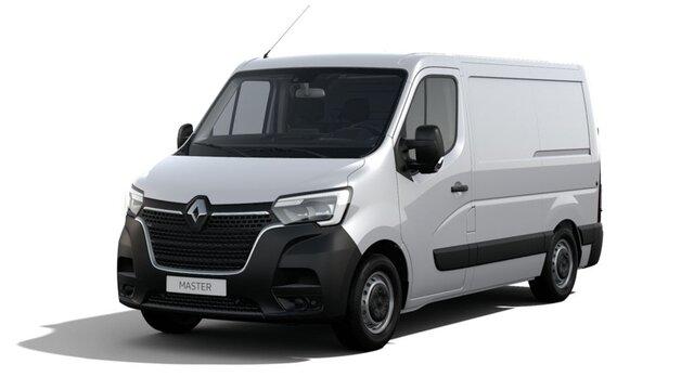 Nowe Renault Master z przodu