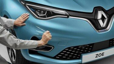 Powłoka zabezpieczająca Renault Zoe E-Tech elektryczne