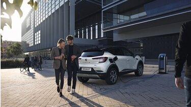Renault CAPTUR Hybryda z możliwością ładowania