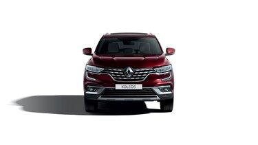 Renault KOLEOS przód w kolorze bordowym