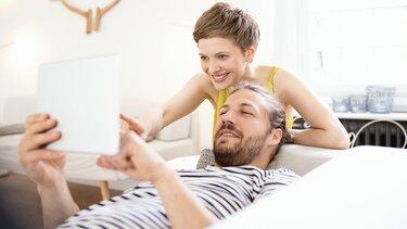 para używa tableta w domu