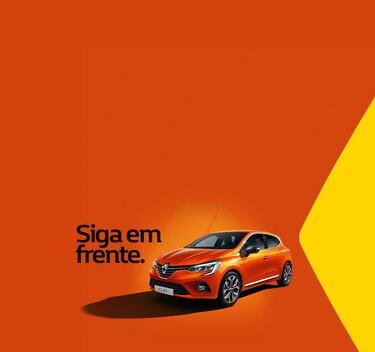 CLIO citadino, exterior laranja
