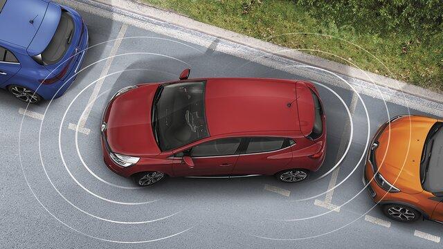 Renault CLIO – SENSORES DE ESTACIONAMENTO