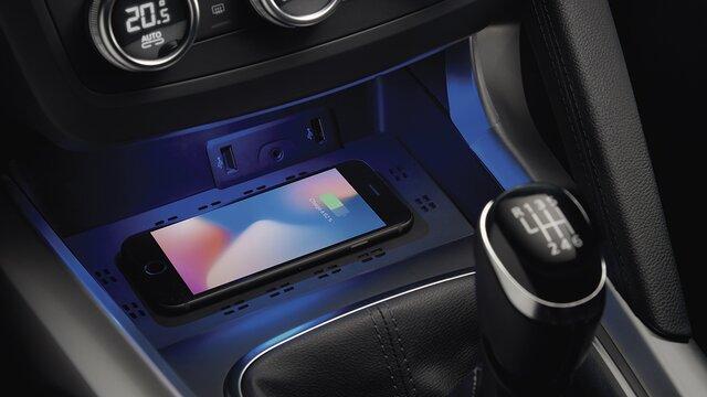 Renault KADJAR – CARREGADOR DE SMARTPHONE POR INDUÇÃO