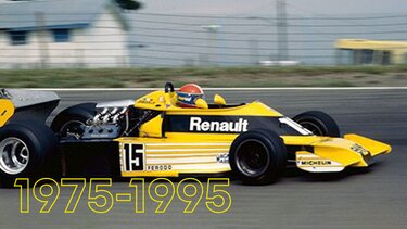 1975 a 1995 Renault
