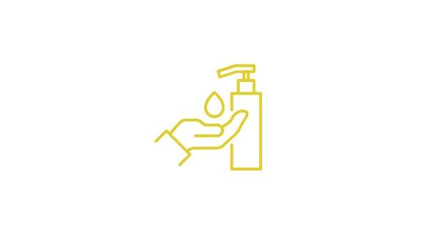lavar desinfetar maos