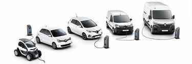 Gama elétrica Renault