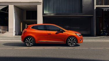 CLIO laranja, perfil