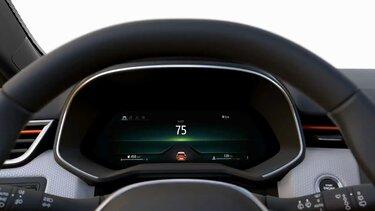 ecrã do condutor interior CLIO