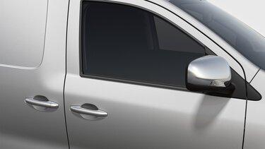 Retrovisores e puxadores das portas cromados Express Van