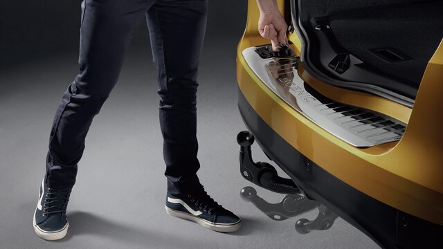 Renault Grand SCENIC Gancho de reboque retrátil