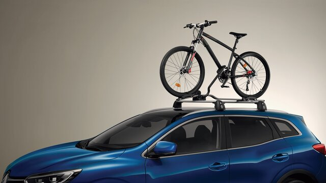 Barras de tejadilho Quickfix e Suporte de bicicleta