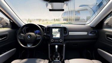 Renault KOLEOS interior acabamentos