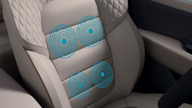 KOLEOS banco do condutor com função de massagem