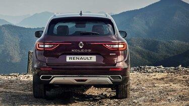 Renault KOLEOS dianteira bordeaux