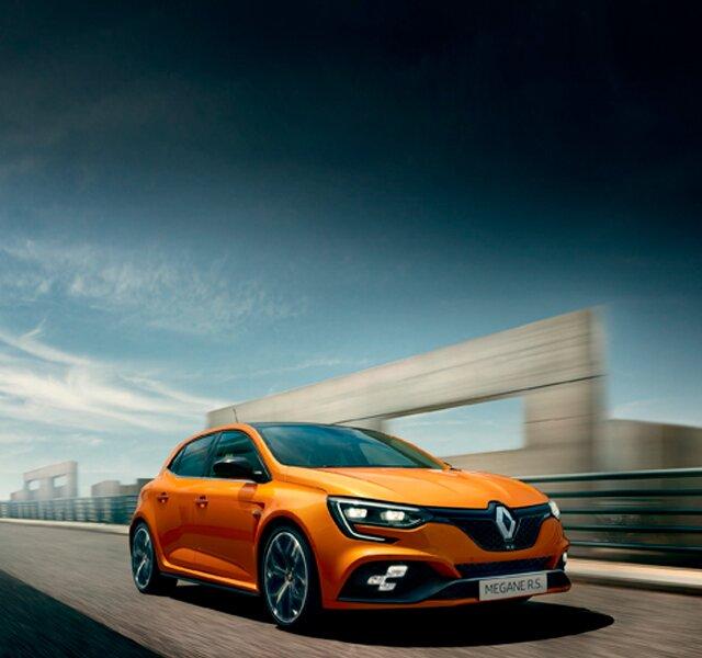 Renault MEGANE R.S. - Descobrir