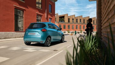 Renault ZOE vista traseira
