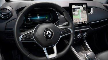 ecrã de navegação Renault ZOE
