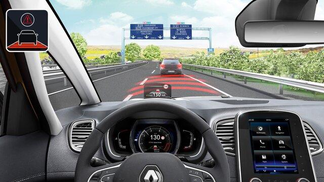 Renault SCENIC equipamento
