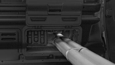 Novo TRAFIC - Porta para carga de objetos longos