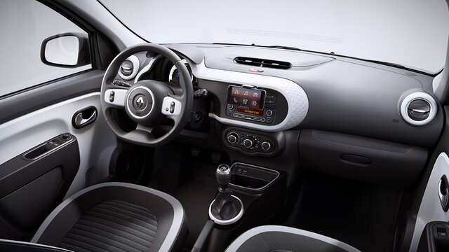 Renault TWINGO - Vista do interior
