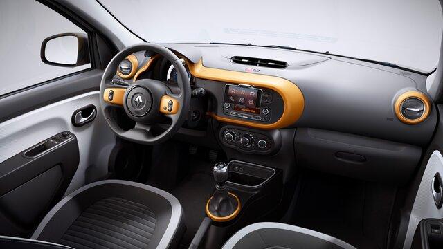 Renault TWINGO interior personalizável