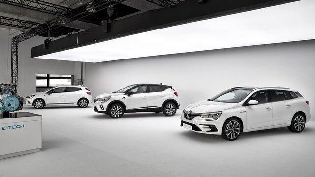 Renault - Nova gama E-TECH