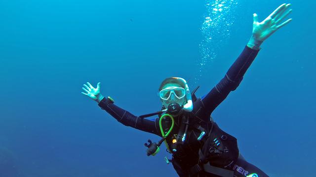 mergulho subaquatico