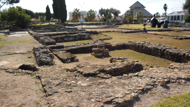 Ruínas romanas Cerro da Vila