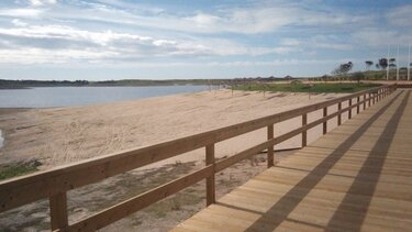 praia fluvial mourao