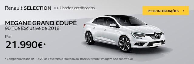 Campanha Renault Mégane Gtand Coupé usado