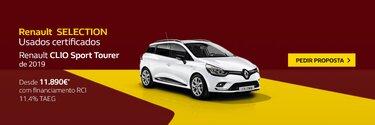 campanha renault Clio sport Tourer