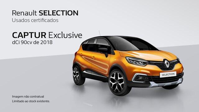 Renault SELECTION CAPTUR Usado