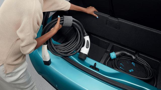 Renault ZOE - Podea falsă portbagaj pentru depozitare cablu ZOE