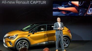 Noul Renault CAPTUR Salonul Auto de la Frankfurt