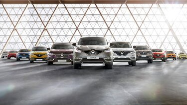 Gama de vehicule pentru pasageri Renault