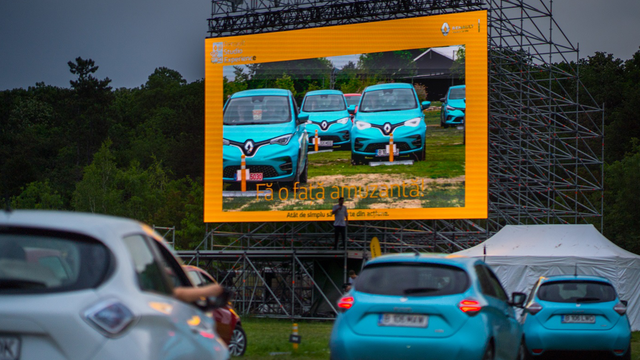 Renault Cinema Drive in