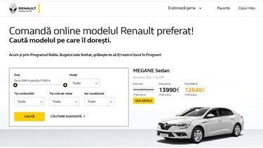 Platforma de e-Commerce a Groupe Renault Romania