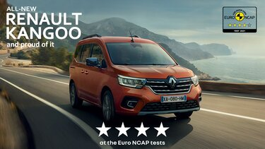 Noul Kangoo 4 stele Euro NCAP