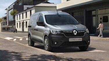 Noul Renault Express Van exterior frontal lateral