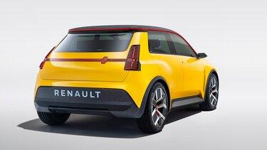 Renault 5 Prototype spate