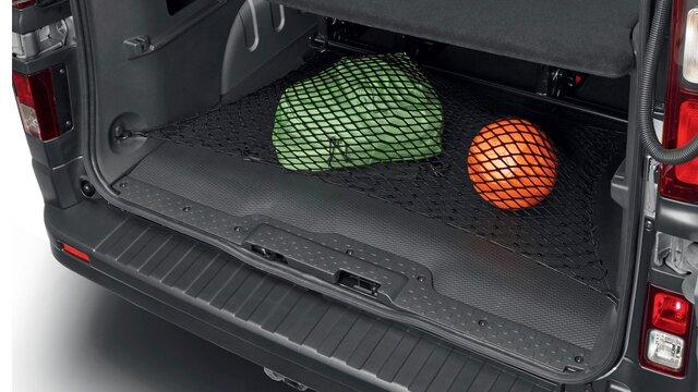 TRAFIC - Protecție prag portbagaj cu plasă